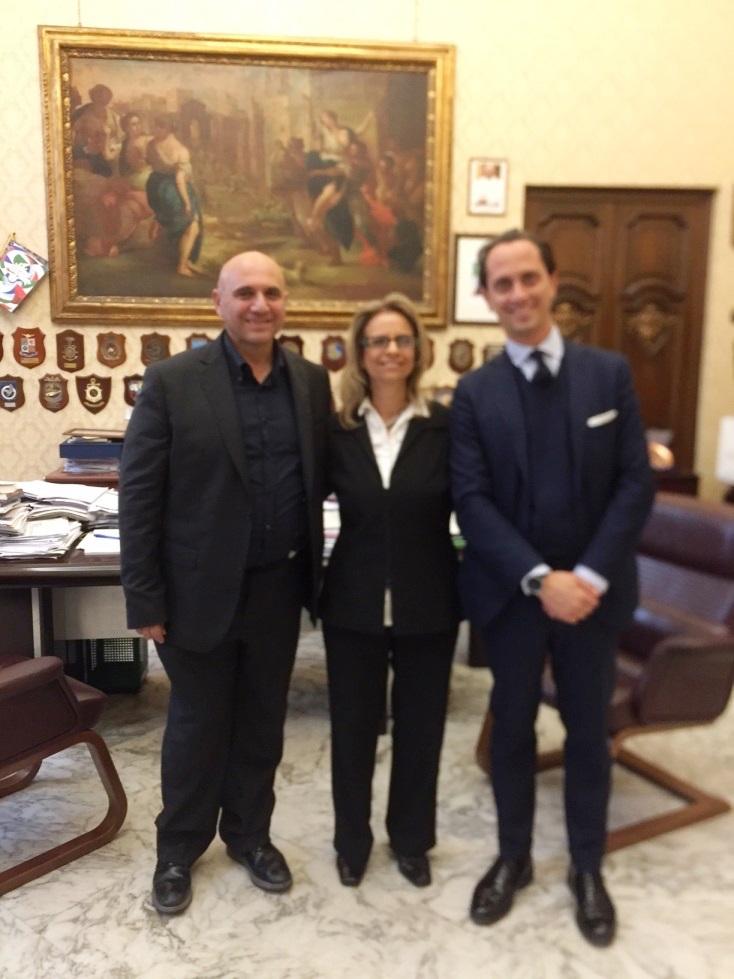 """ביקור ד""""ר שלומית יניסקי-רביד באוניברסיטת בארי באיטליה."""
