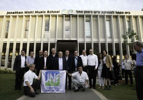 jnf-uk-dedicates-the-jonathan-wohl-music-school-at-ono-college